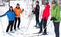 Ski group in Wisconsin Vacation Winter Spots